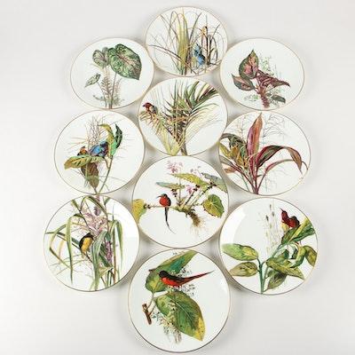Minton Porcelain Dinner Plates, Late 19th Century