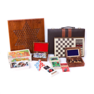 Board Games, Handheld Games and Electronics, Vintage