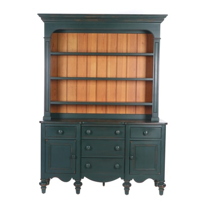 Lexington Furniture Contemporary Late Federal Style Painted Wooden China Cabinet