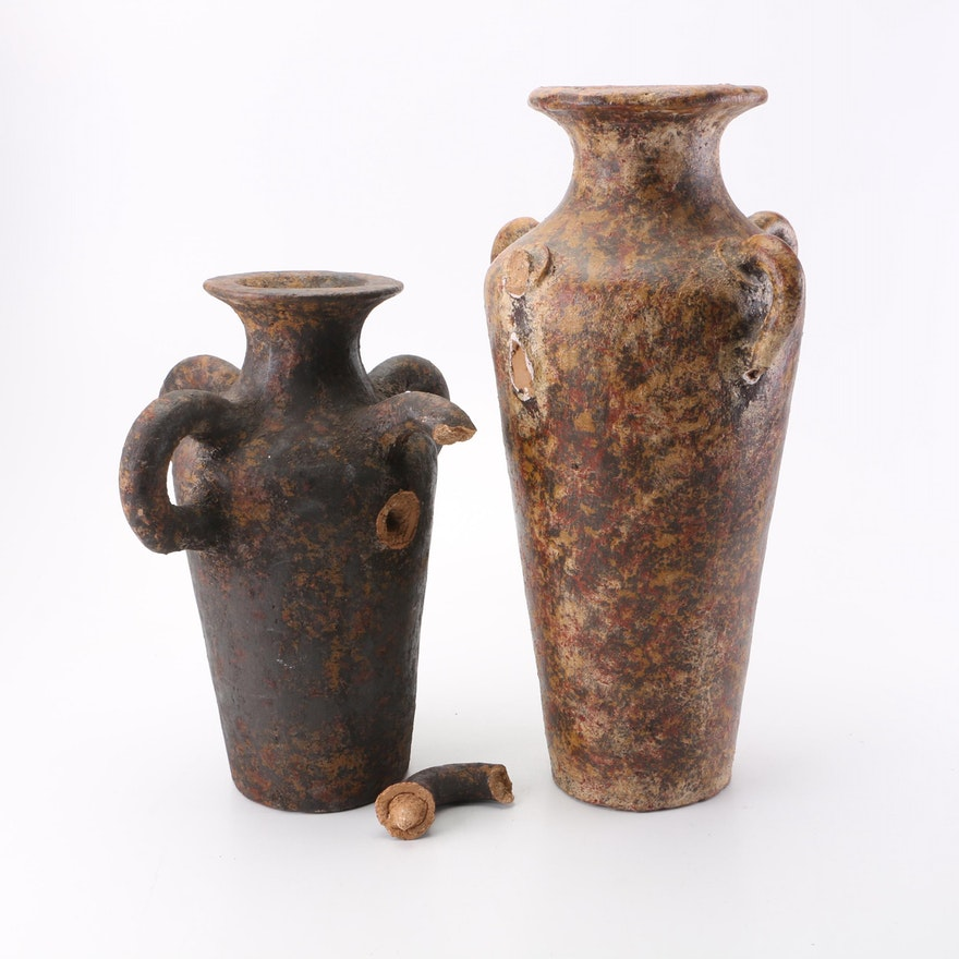 Earthenware Vases