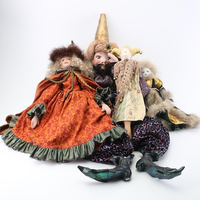 Ceramic Dolls and Puppets
