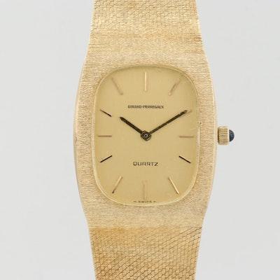 Vintage Girard - Perregaux 14K Gold Quartz Wristwatch