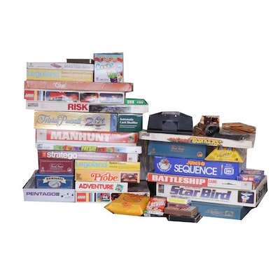 Board Games, Legos and Card Games, Vintage and Contemporary