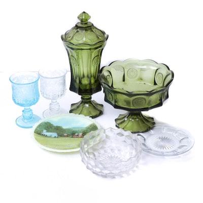 Fenton, Heisey and Fostoria Glass, Vintage