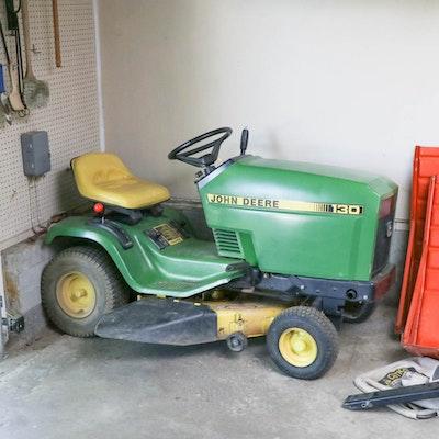 John Deere 130 Lawn Tractor