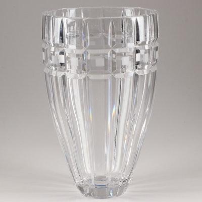 "Marquis by Waterford ""Quadrata"" Crystal Vase"