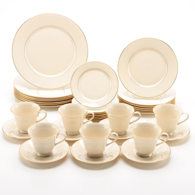 "Lenox ""Hayworth"" Porcelain Dinnerware for Seven, 1982 - 2010"