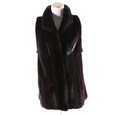 Ranch Mink Vest from Hertzberg Furs
