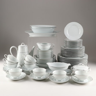 "Noritake ""Whitehall"" Bone China Dinnerware, Circa 1960–1979"