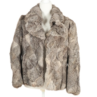 Dino Ricco Rabbit Fur Jacket