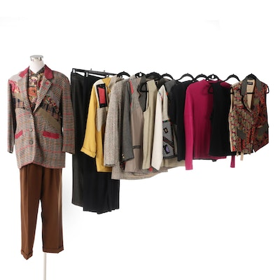 Canvasbacks Separates Including Tweed Style Jackets Including Lynn Murray