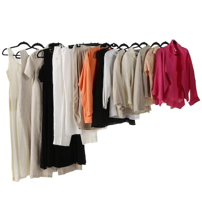 Women's Linen Casual Dresses and Separates by Calvin Klein, Ellen Tracy and More