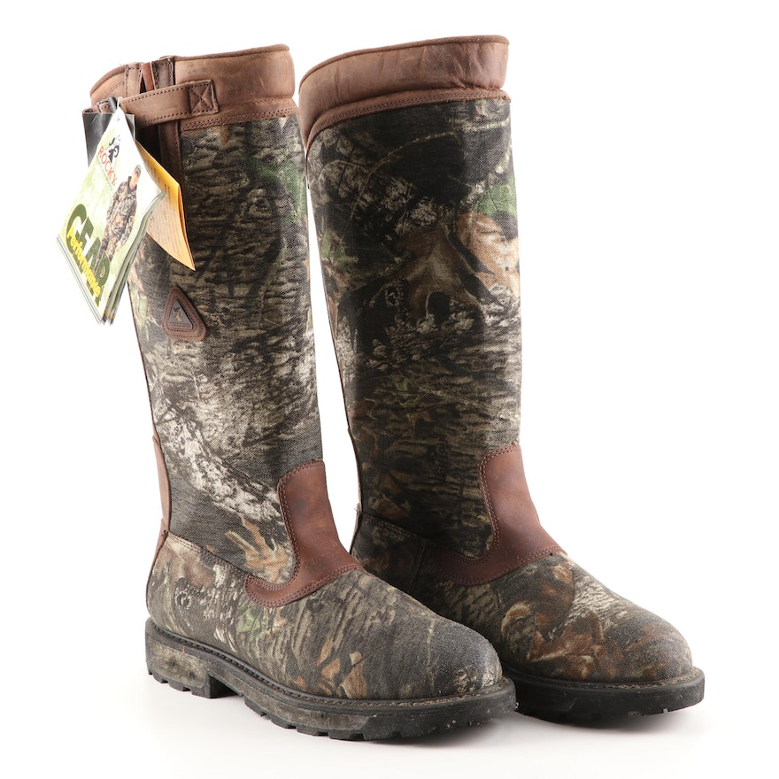 9bfb7f01b5e Men's Rocky Waterproof Pull-On Snake Boots