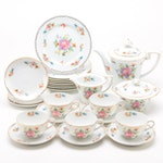 "Noritake ""Desdlina"" Porcelain Tea and Dessert Set for Five"
