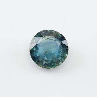 Loose 3.06 CT Sapphire Gemstone