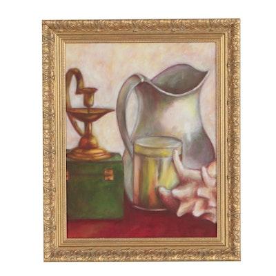 Paul Brinker Still Life Oil Painting