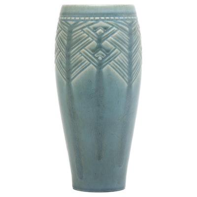 Ruben Earl Menzel Art Deco Rookwood Pottery Vase, 1937