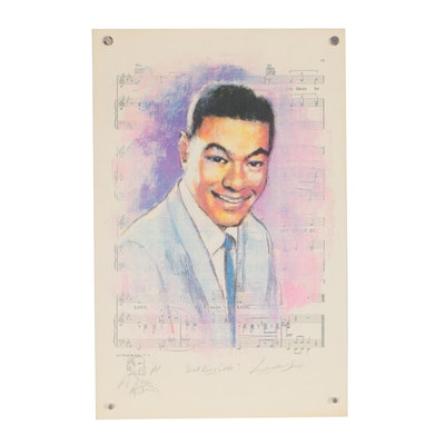"Barry Leighton-Jones Giclée ""Nat King Cole"""