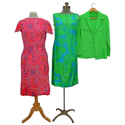 Multicolor Dresses with Jacket Including Dynasty Silk Dress from Nora Zandre