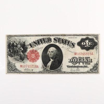 Series of 1917 U.S. $1 Legal Tender Note