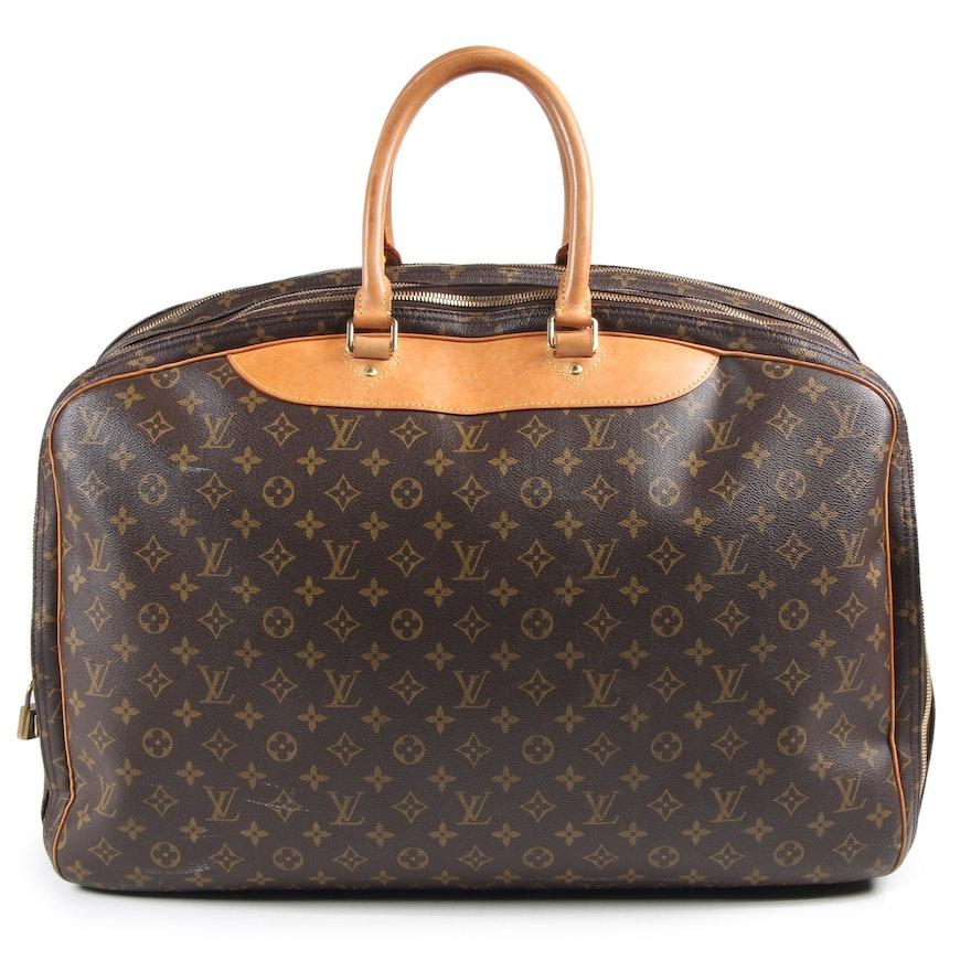 Louis Vuitton Paris Alize 3 Poche Soft Suitcase in Monogram Canvas