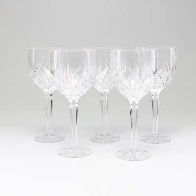 """Marquis by Waterford """"Brookside"""" Water Goblets, Late 20th Century"""