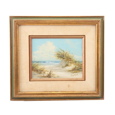 Suzy Aalund Seaside Landscape Oil Painting