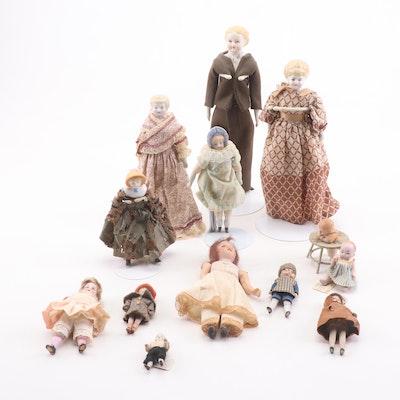 Gebrüder Knoch and Other German Dolls of Porcelain, Bisque, and Wood