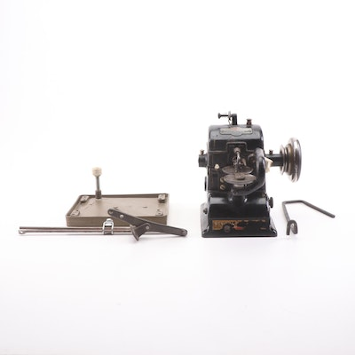 "Bonis ""Never-Stop"" Industrial Fur Sewing Machine"
