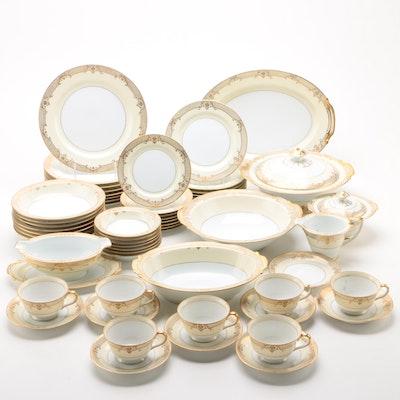 """Noritake """"Cheramy"""" Porcelain Dinnerware and Serveware"""