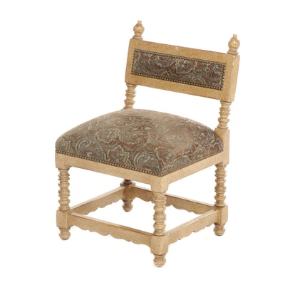 Contemporary Painted Wooden Children's Chair