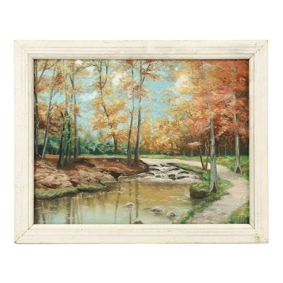 Anna Wernimont Oil Landscape Painting