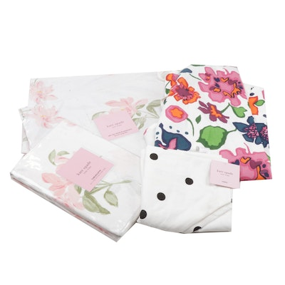 """Kate Spade """"Breezy Magnolia"""" Tablecloth, Placemats & Colorful Aprons"""