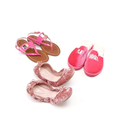 Kate Spade New York Pink Ballet Flats, Slippers and Sandals