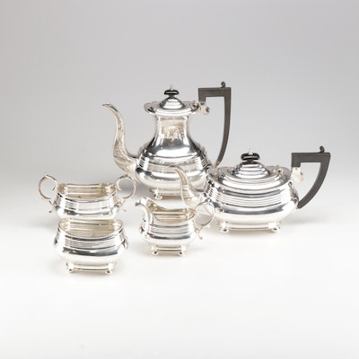 Wallace Silver Plate Five Piece Tea Service