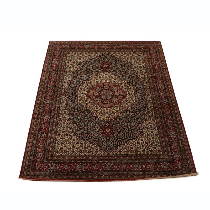 Machine Made Persian Kermanshah Wool Rug