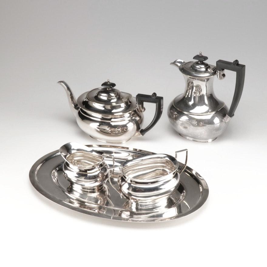 Silver Plate Tea Service
