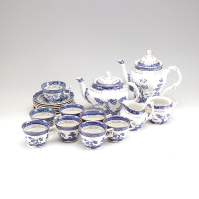 """Booths """"Real Old Willow"""" Coffee and Tea Service"""