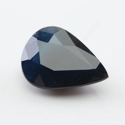 Loose 3.26 CT Sapphire Gemstone
