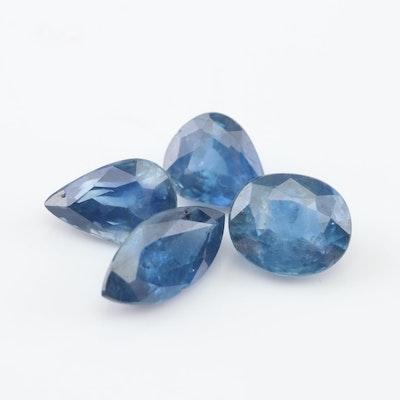Loose 3.05 CTW Sapphire Gemstones