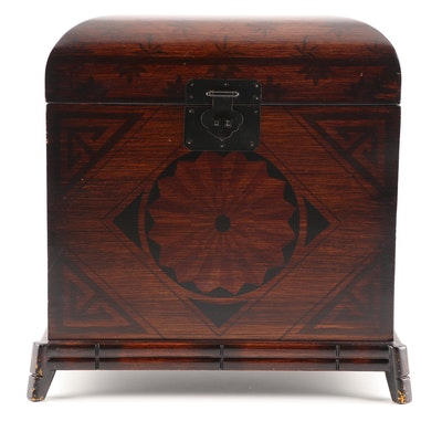 Decorative Painted Wooden Box by Wildwood