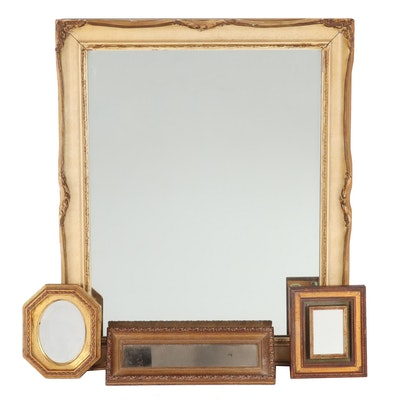 French Provincial Style Framed Mirrors, Circa 1940