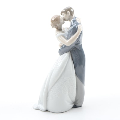 "Nao by Lladró ""A Kiss Forever"" Porcelain Figurine, 2007"