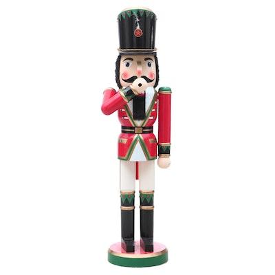 Large Wooden Nutcracker Figure