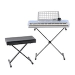 Yamaha PSR-273 Portable Electric Keyboard with Stand and Bench
