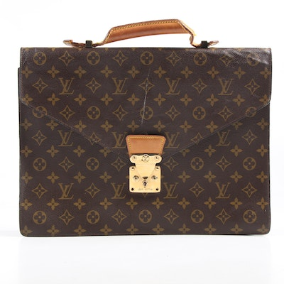 Louis Vuitton Paris Serviette Conseiller Monogram Briefcase