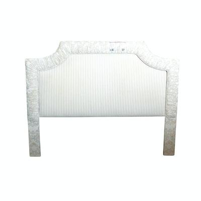 Custom Upholstered Queen Headboard, Contemporary