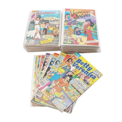 """Archie Series Comics including """"Betty's Diary"""", """"Archie 3000"""" and More"""