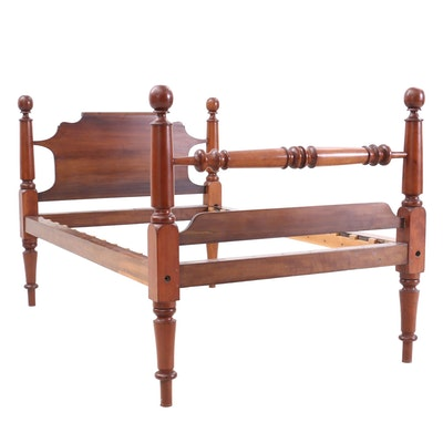 Federal Poplar Bed Frame, Early to Mid 19th Century