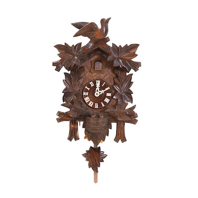 River City German Musical Black Forest Cuckoo Clock